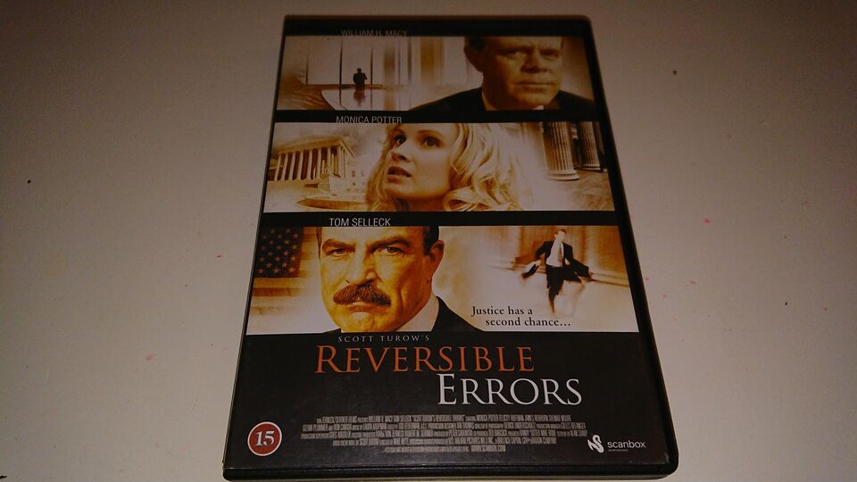 Reversible Errors, DVD, drama