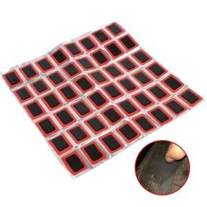 48Pcs-Square-Rubber-Puncture-MTB-Bike-Tire-Tyre-Tube-Repair-Patches-Piece-Kit