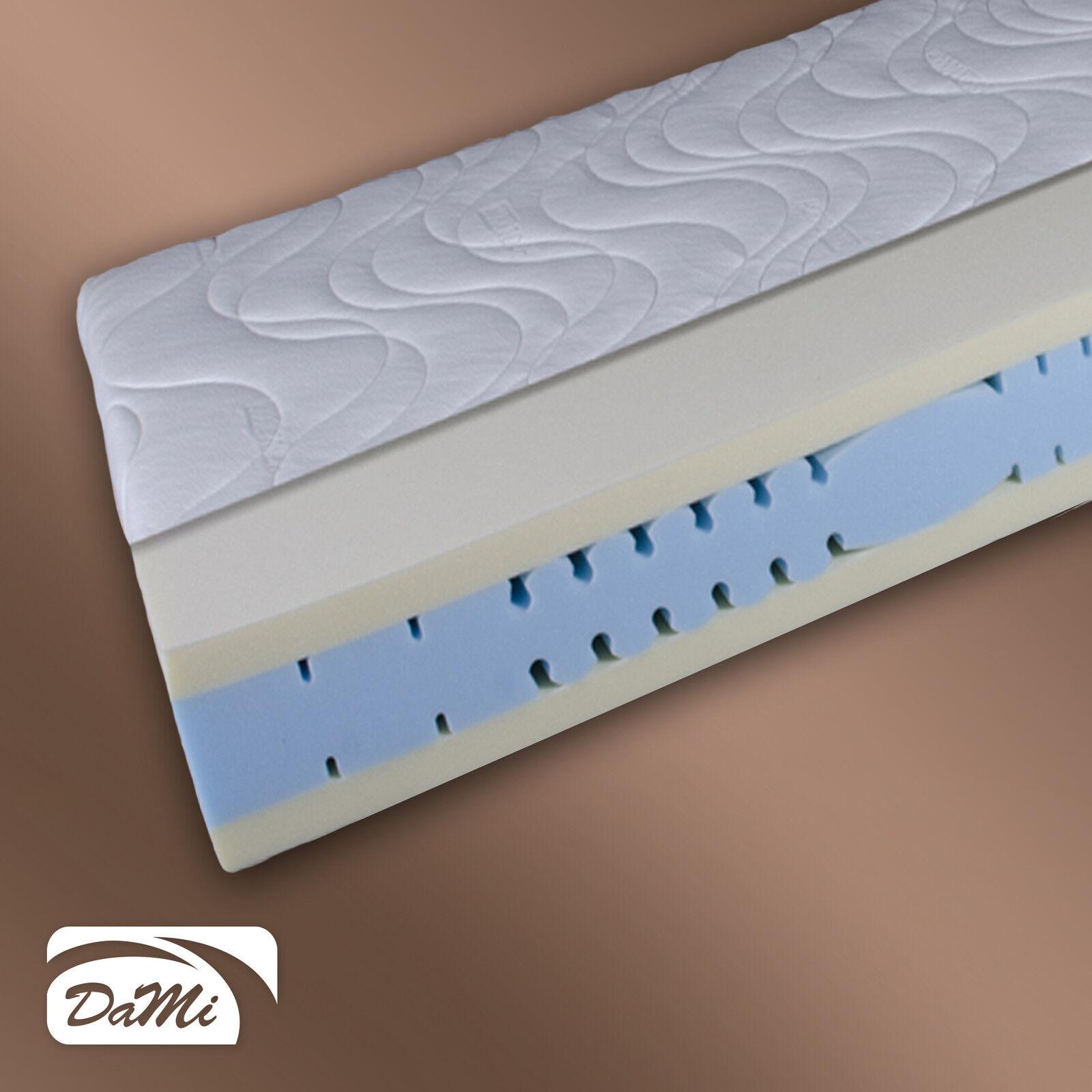 7 Zonen Visco Komfortschaum Matratze  DaMi Thermo Sensitiv   Gesamthöhe 20 cm