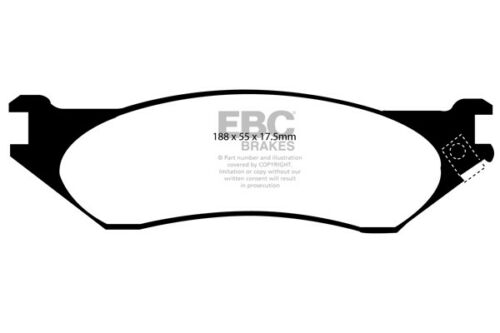 98 /> 99 EBC Ultimax Front Brake Pads for Lincoln Navigator 5.4 4WD