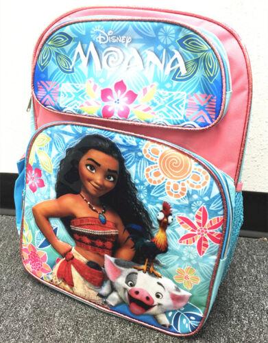 "Disney Moana Large Backpack 16/"" school backpack NEW!"