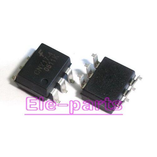50 piezas CNY17-4 SMD-6 SOP-6 Fototransistor Optoacoplador