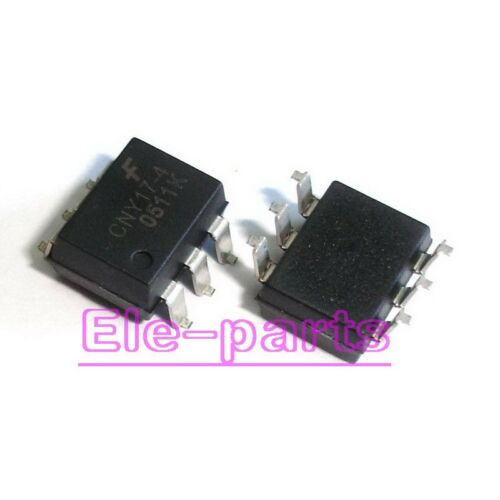 50 Pièces CNY17-4 SMD-6 Phototransistor Optocouple