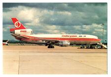 MALAYSIA Airlines Douglas DC-10-30CF Postcard