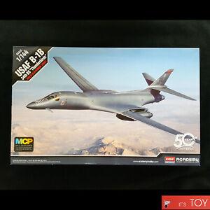 Academy-1-144-USAF-B-1B-34th-BS-034-Thunderbirds-034-Bomber-Plastic-model-kit-12620