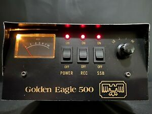 GOLDEN EAGLE 500 CB Linear Amplifier CB Ham Radio Clean & Powerful