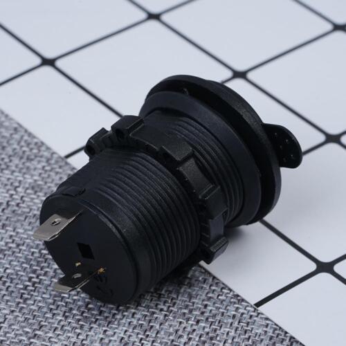 12V Einbau Auto KFZ Power Steckdose Zigarettenanzünder Socket~