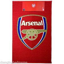 OFFICIAL ARSENAL  FOOTBALL CLUB  NON SLIP DOOR HOME RUG BATH MAT 50 x 80cm