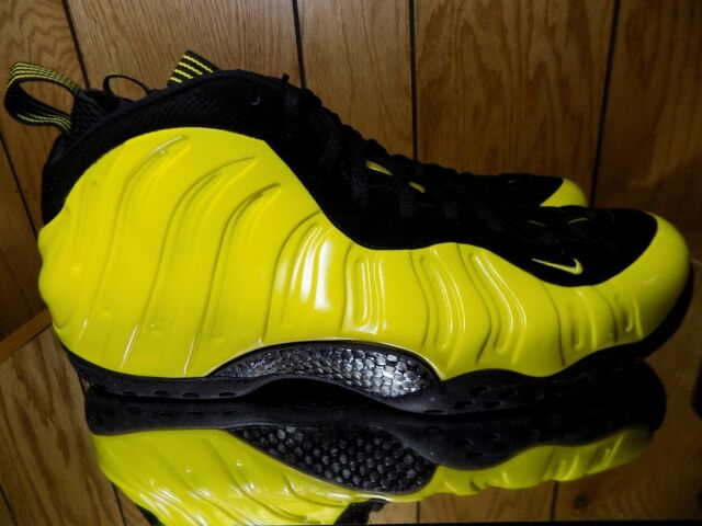new product cf73f 8746f Nike Air Foamposite One Optic Yellow Black Deadstock Wu Tang 7 5-15 US 8