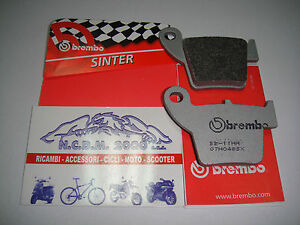 REAR-BRAKE-PADS-BREMBO-SINTER-RACING-07HO48SX-HONDA-TRX-450-X-2014