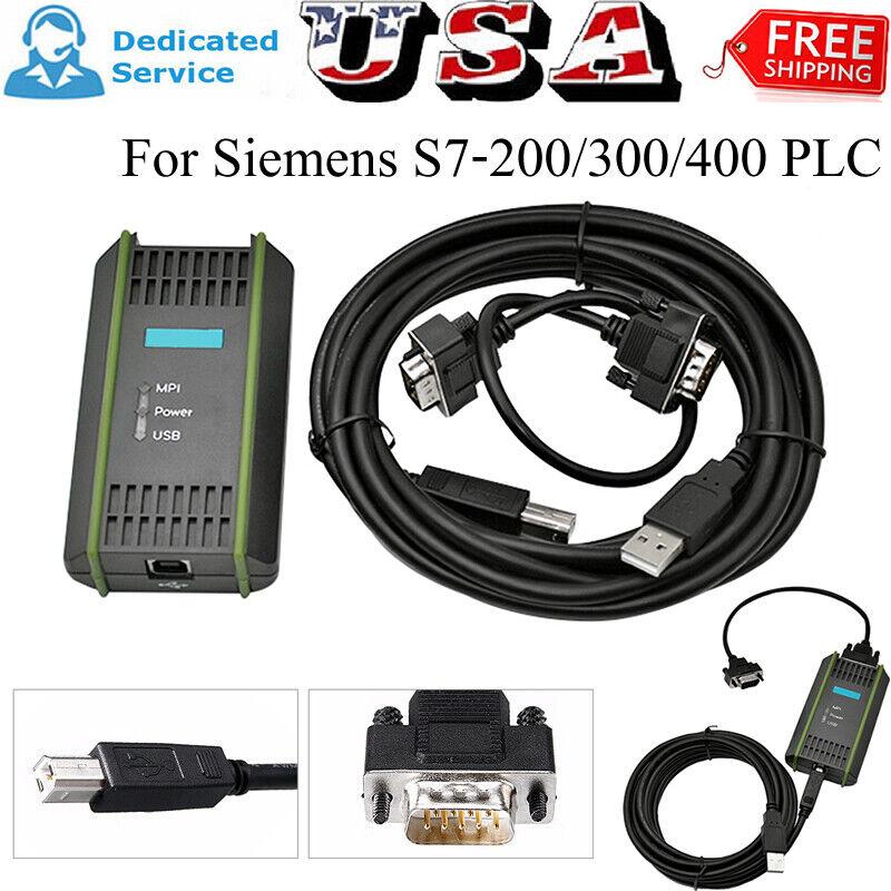 5pcs 6ES7972-0CB20-0XA0 USB-MPI USB-PPI For Siemens S7-200 300 400 PLC Cable