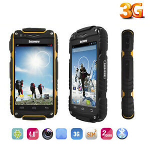 Android Discovery V8 Smartphone Rugged Mobile Phone 2sim