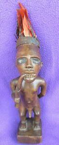 Outstanding-Bakongo-Feathered-Nkisi-Power-Figure-Fetish-By-Ritual-Nganga-Priest