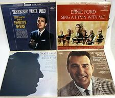 Tennessee Ernie Ford (Lot of 4) 33RPM Vinyl Records(1960) ST1679,1974,T2444,2618