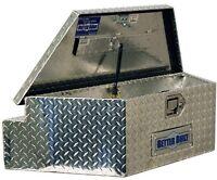 Truck Trailer Tongue Tool Box Chest Carrier Aluminum Portable Garage Storage