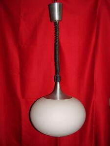 Suspension Lustre Boule Monte Et Baisse 1970 Rolly Seventies Italie - Lamp Ufo ? Lw59r0fc-10112035-545740795