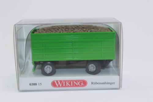 Wiking 038815 rübenanhänger-verde 1:87 nuevo en OVP