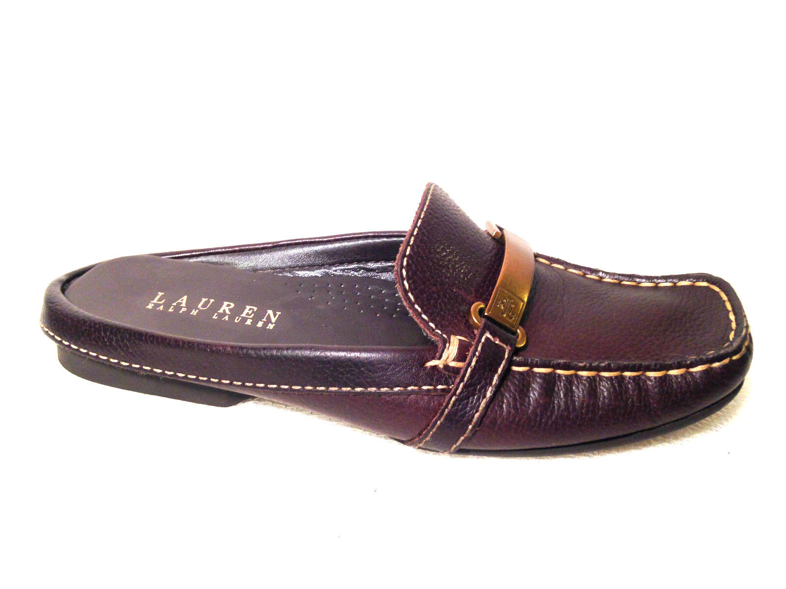Ralph Lauren clogs clogs Lauren loafers size 6 U.S. Brown 9f1c4f