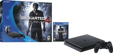 Sony PS4 Slim 500 GB Uncharted 4 Bundle + $50 Dell GC