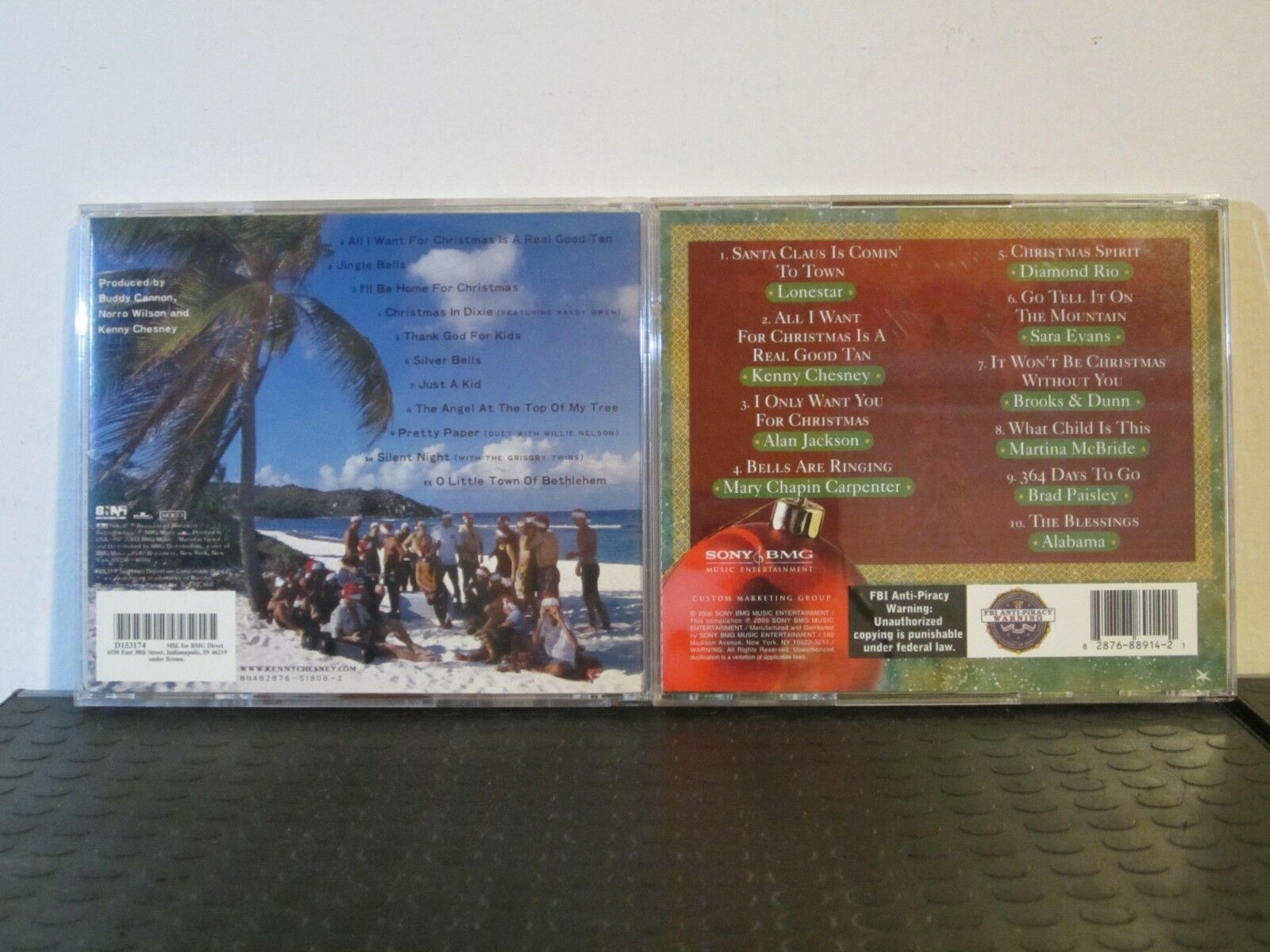 All I Want for Christmas Is a Real Good Tan by Kenny Chesney (CD ...