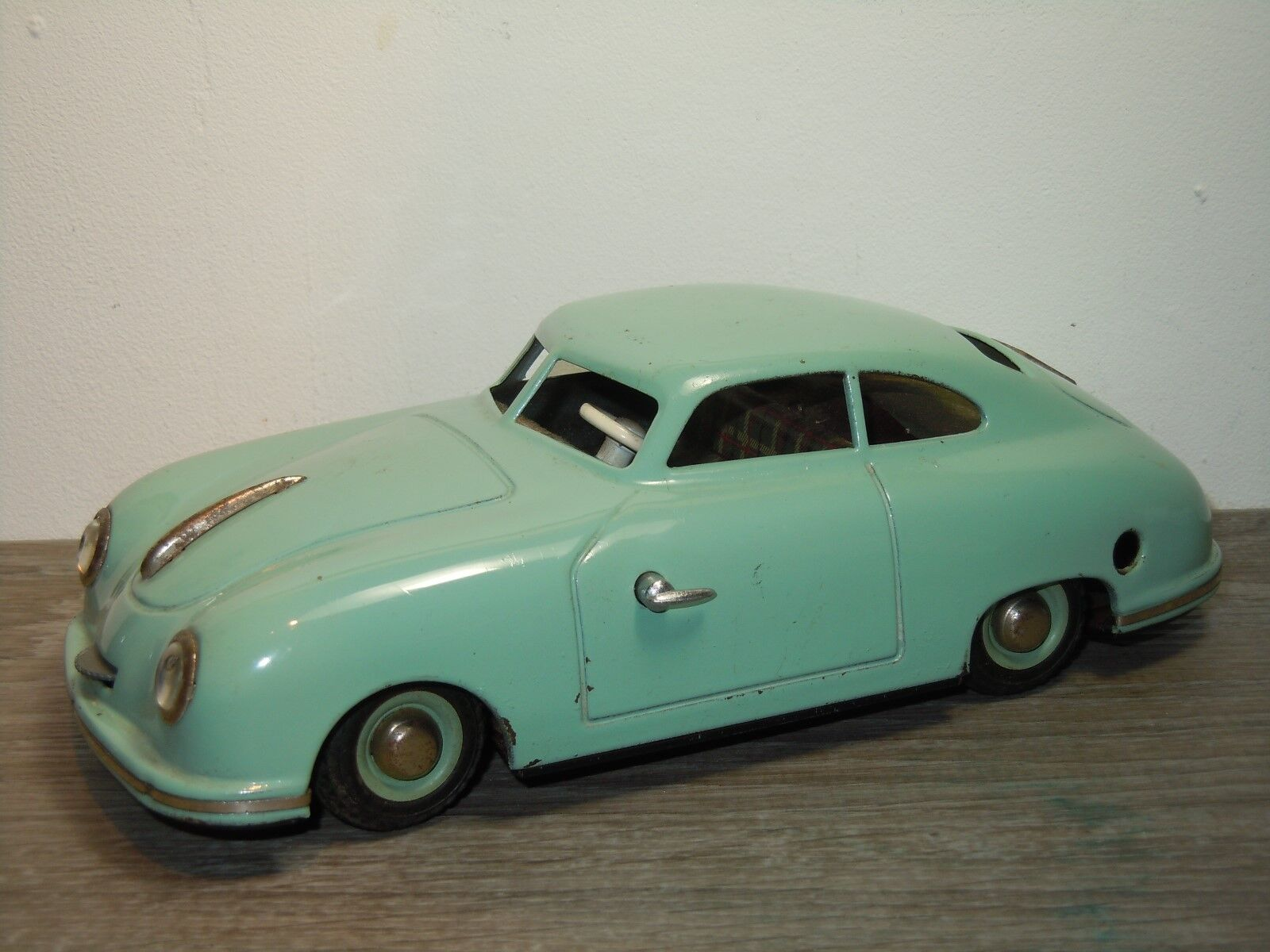 Porsche 356 Coupe-tinplate JNF prossootipo windup Germany 1 19  34512