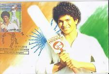 SACHIN TENDULKAR  200th TEST -  Maxi Card