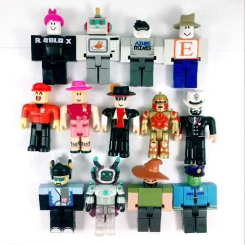 random 5x Roblox mystery Champions Legends of ROBLOX figure toys no code weapon