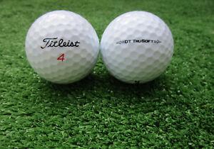 100-Titleist-DT-TruSoft-Golfbaelle-AAAA-AAA-Top