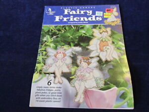Annie-039-s-Attic-Fairy-Friends-Plastic-Canvas-Pattern-Bklt-6-Design-Girl-Boy-Q938