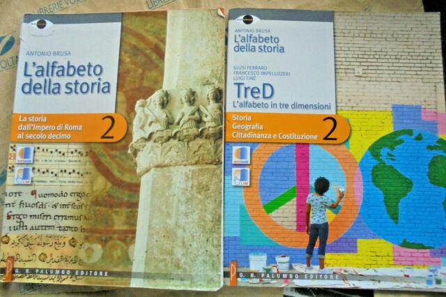 L' ALFABETO DELLA STORIA VOL.2 (IN 2 VOLUMI) - ANTONIO BRUSA - PALUMBO