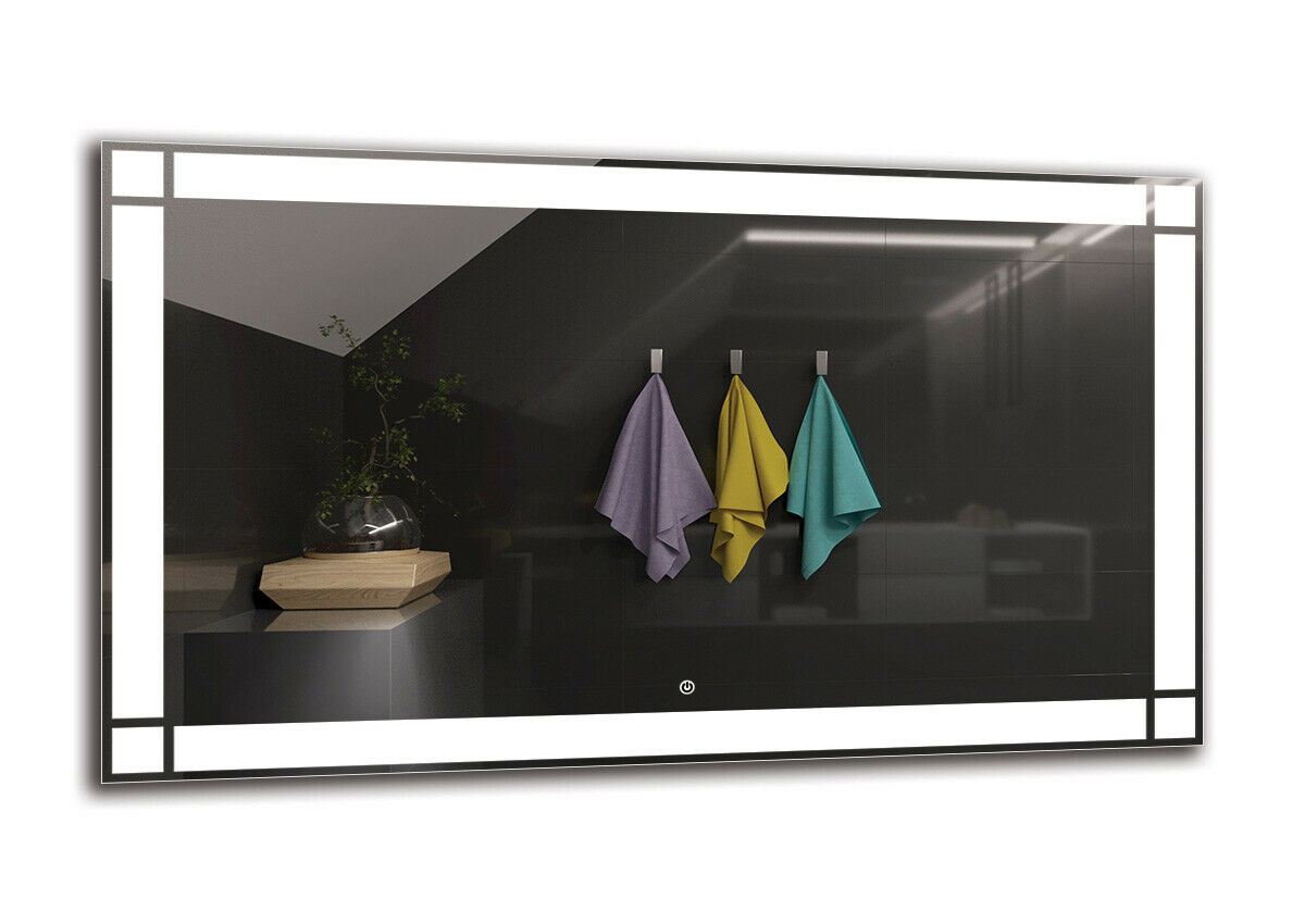 LED Espejo Espejo Espejo de baño iluminado   Interruptor tactil  luminado LED   DELUXE M1ZD-60 ad70bb