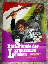 STUNDE DER GRAUSAMEN LEICHEN * Paul Naschy - A1-Filmposter - German 1-Sheet 1974