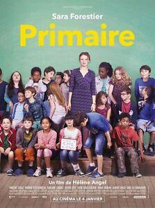Affiche-Pliee-40x60cm-PRIMAIRE-2017-Sara-Forestier-Vincent-Elbaz-NEUVE