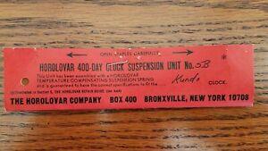 Kundo-400-Day-Anniversary-Clock-Suspension-Spring-Wire-Unit-5B-Horolovar