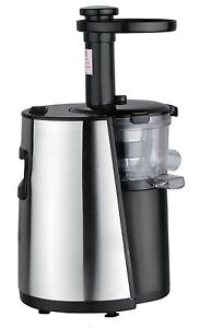Chef-039-s-Star-Slow-Masticating-Juicer-Black-amp-Stainless-Steel