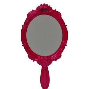 Pink Wall Mirror xhilaration® katerina large pink pearled-finish princess style