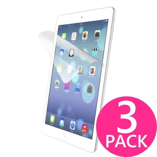3X HD Clear Screen Protector Shield Film For iPad Air 2 iPad 6 ipad air WB New//