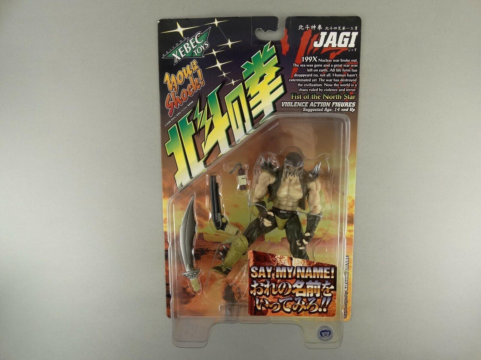 Xebex Kaiyodo violenza simulata Action Figure Fist of the North Star 199x JAGI OVP