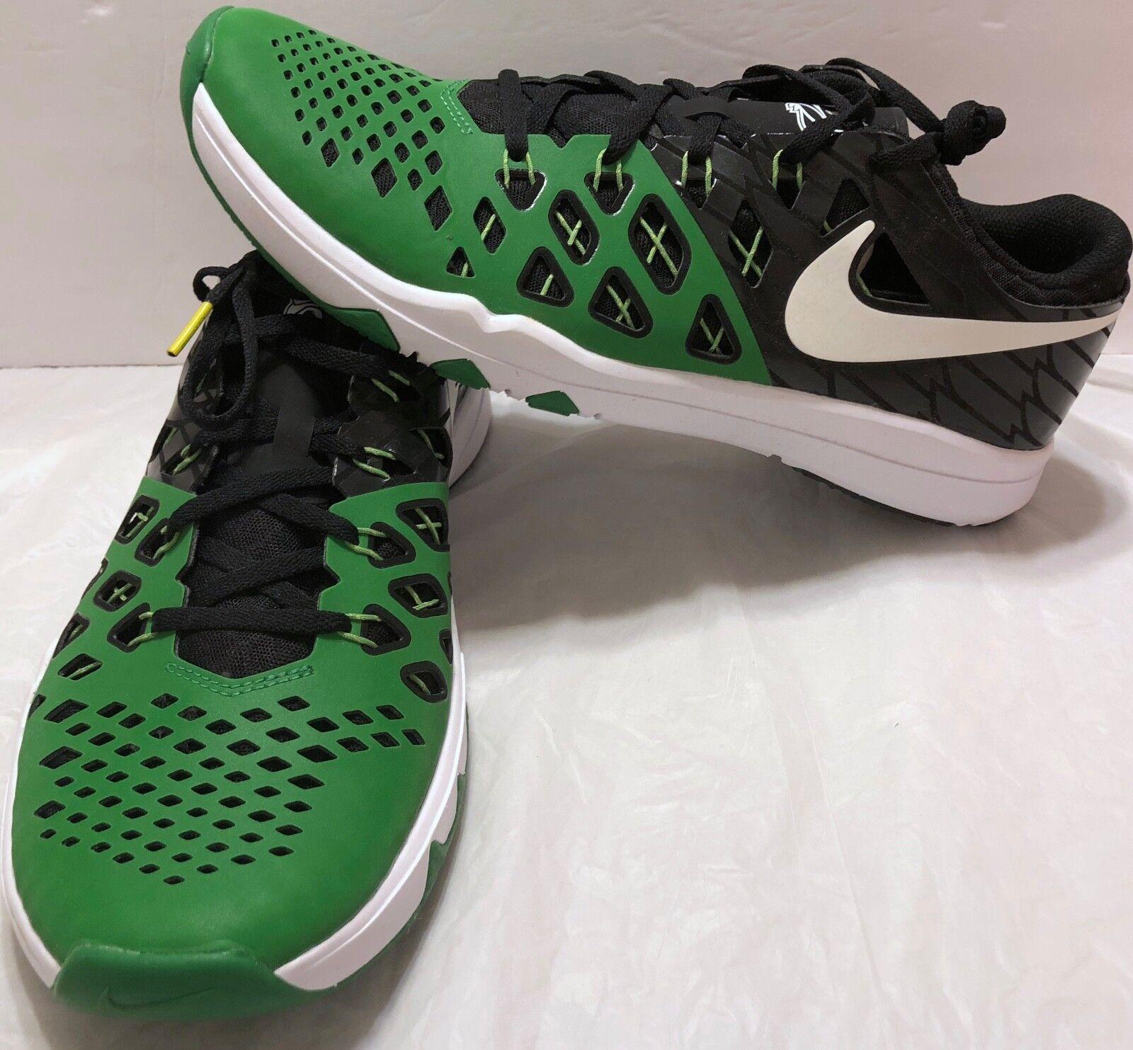 Nike Train Speed 4 AMP Oregon Ducks Shoes Sz 844102 11.5 Apple Green 844102 Sz 301 Train 4d38a1