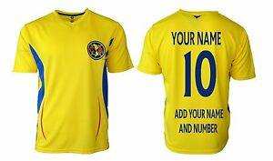 68f44f277f5 club America Soccer Jersey Mexico   Add Any Name   Number Aguilas ...
