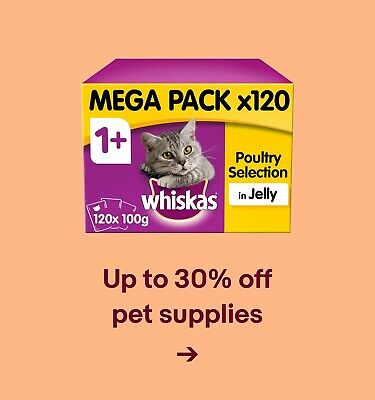 Up to 30% off pet supplies