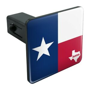 Texas-TX-Home-State-Flag-Officially-Licensed-Tow-Trailer-Hitch-Cover-Plug-Insert