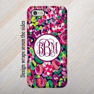 online retailer 823b3 7dad6 Details about iPhone 8 Case, Lilly Pulitzer inspired iPhone 6,Note 5 case,  iPhone 7, Galaxy S7