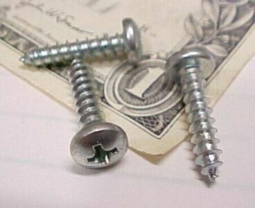 """#8 x ¾/"""" Sharp Point Storm Windows Lot of 300 Phillips Pan Head Tapping Screws"""
