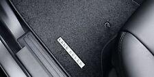 Land Rover Discovery 3 & 4  Carpet Mat Set Ebony Black 2008-16MY - VPLAS0191PVJ