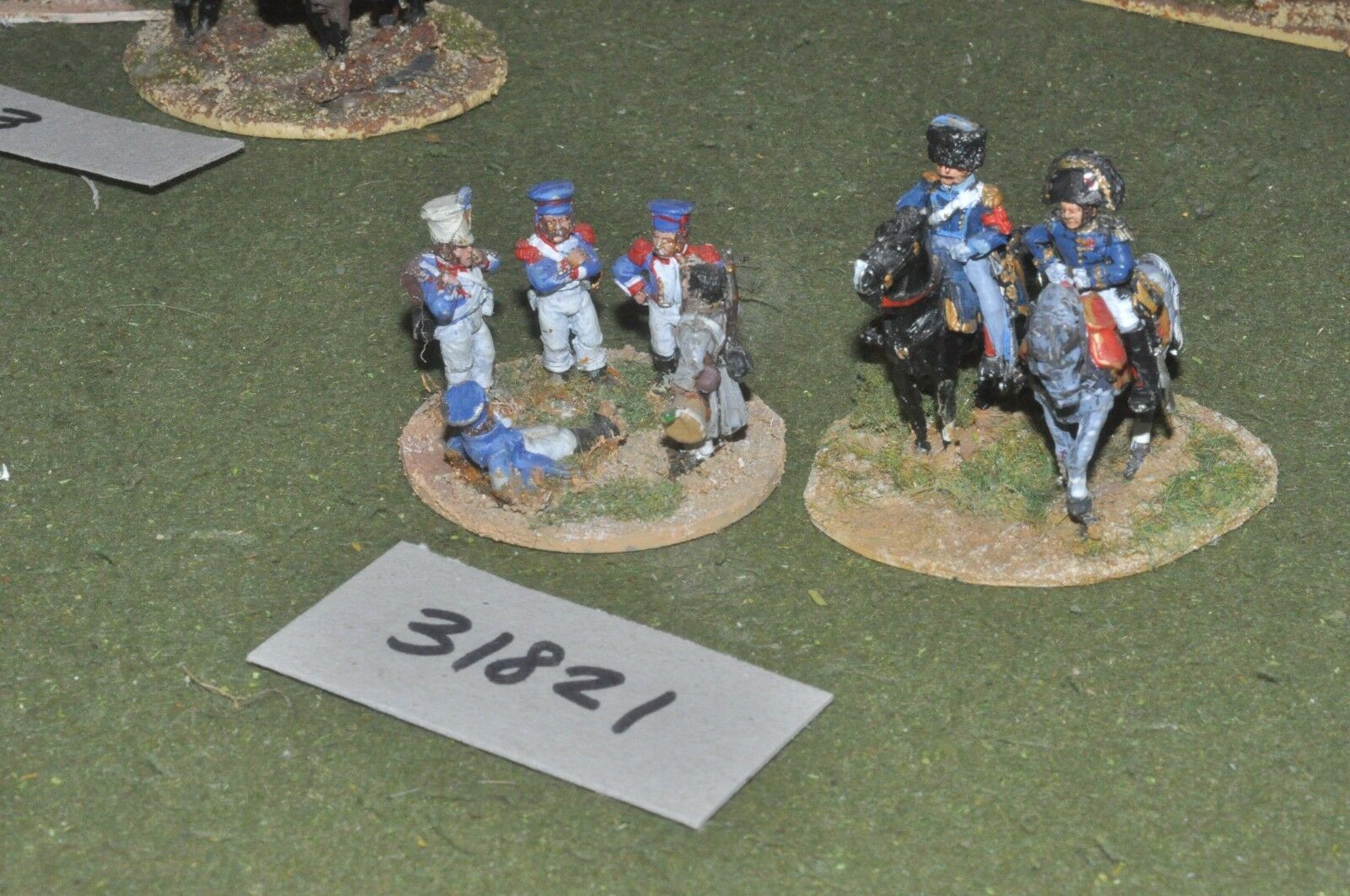 25mm napoleonic   french - generals 7 figures - command (31821)