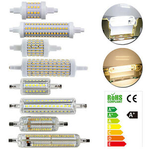 R7s 5w 10w 15w 78mm 118mm 2835 3014 4014 smd led lampada for Lampadina r7s led 78mm