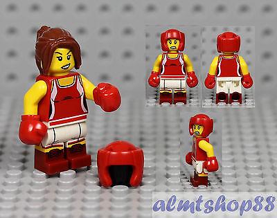 LEGO Series 16 Kickboxer Girl 71013 Minifigure Women Female Collectible CMF
