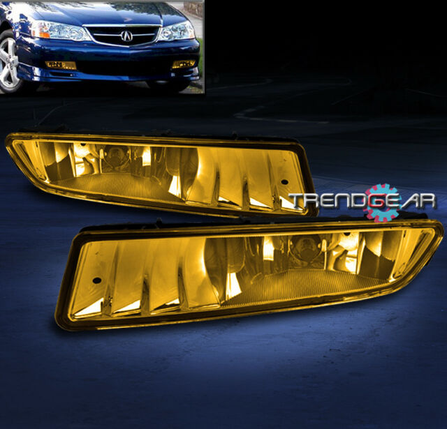 2002-2003 ACURA TL FRONT BUMPER DRIVING FOG LIGHTS LAMPS