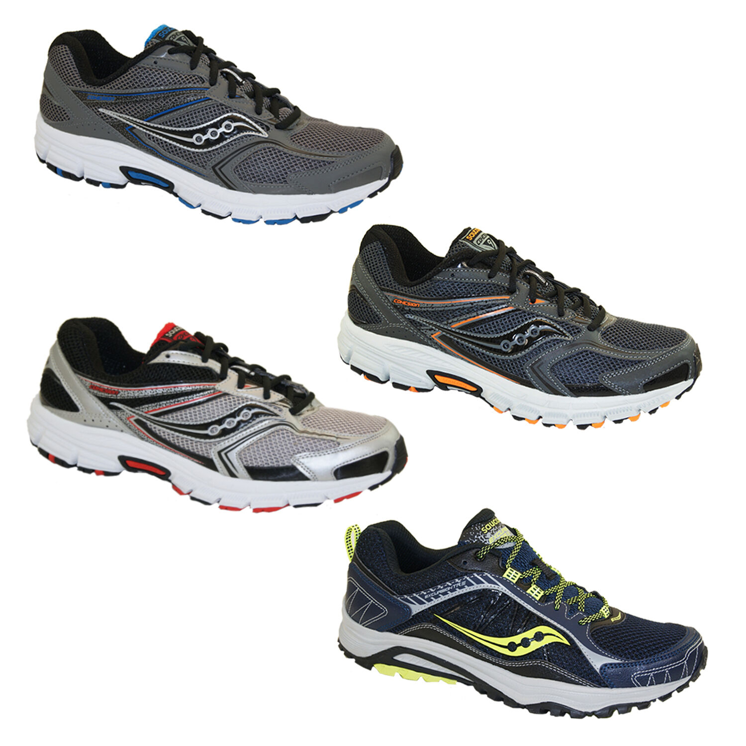 Saucony Running shoes Grid Excursion cohesion 9 tr9 Sport  shoes Trainers Jogging  outlet factory shop